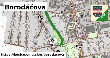ilustračný obrázok k Borodáčova, Košice
