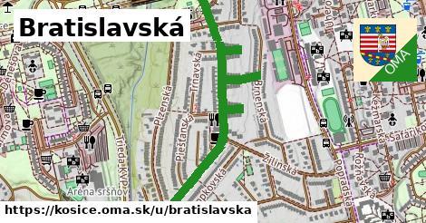 ilustrácia k Bratislavská, Košice - 1,22km