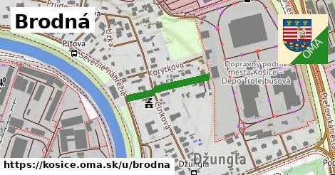 ilustrácia k Brodná, Košice - 188m
