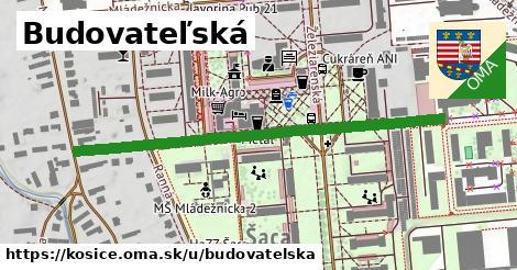 ilustrácia k Budovateľská, Košice - 536m