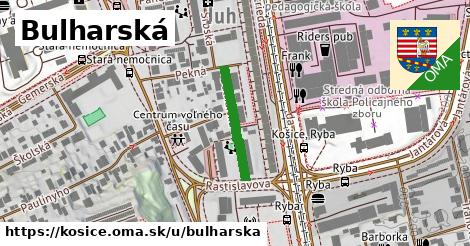 ilustrácia k Bulharská, Košice - 183m