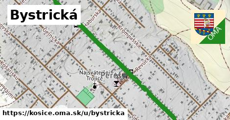 ilustrácia k Bystrická, Košice - 1,60km