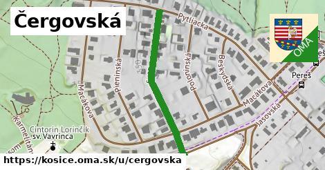 ilustrácia k Čergovská, Košice - 335m