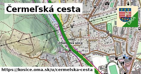 ilustrácia k Čermeľská cesta, Košice - 1,42km