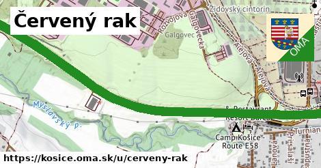 ilustrácia k Červený rak, Košice - 2,1km