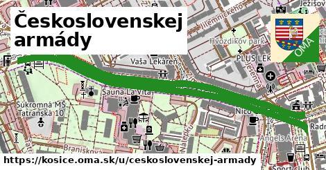 ilustrácia k Československej armády, Košice - 1,37km