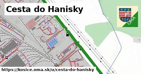 ilustrácia k Cesta do Hanisky, Košice - 3,2km