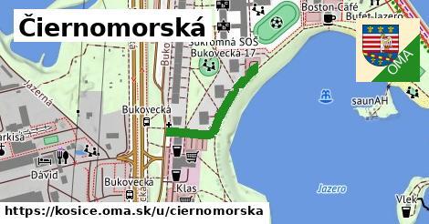 ilustračný obrázok k Čiernomorská, Košice