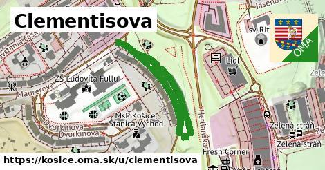 ilustrácia k Clementisova, Košice - 533m