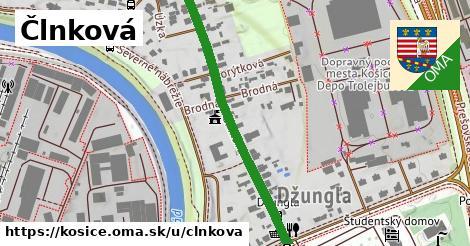 ilustrácia k Člnková, Košice - 419m