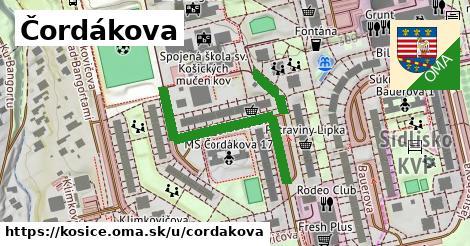 ilustračný obrázok k Čordákova, Košice