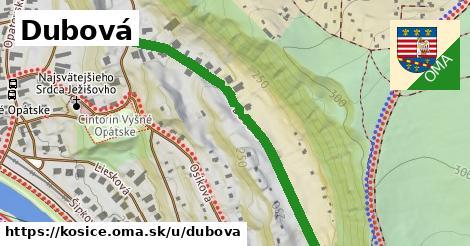 ilustrácia k Dubová, Košice - 473m