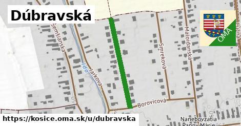ilustrácia k Dúbravská, Košice - 285m