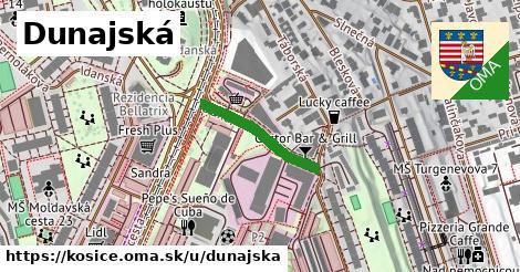 ilustrácia k Dunajská, Košice - 198m