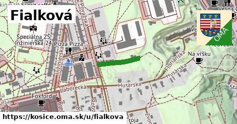 ilustrácia k Fialková, Košice - 136m
