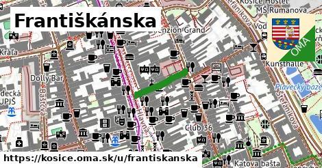 ilustrácia k Františkánska, Košice - 120m