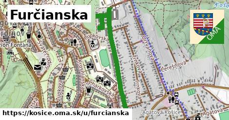 ilustračný obrázok k Furčianska, Košice