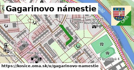 ilustračný obrázok k Gagarinovo námestie, Košice