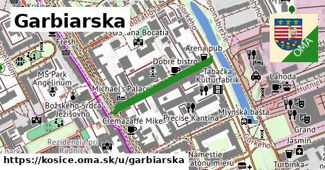 ilustrácia k Garbiarska, Košice - 246m