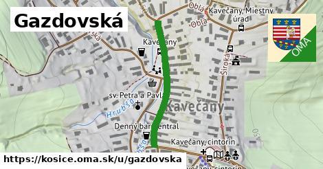 ilustrácia k Gazdovská, Košice - 294m