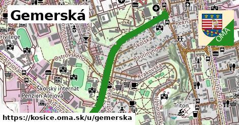 ilustrácia k Gemerská, Košice - 1,97km
