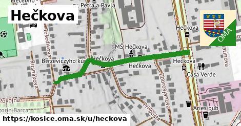 ilustrácia k Hečkova, Košice - 527m
