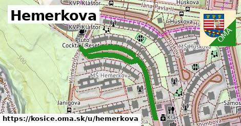 ilustračný obrázok k Hemerkova, Košice