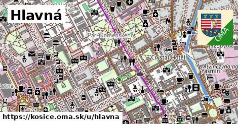 ilustrácia k Hlavná, Košice - 2,9km