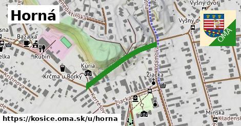 ilustrácia k Horná, Košice - 255m