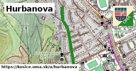ilustrácia k Hurbanova, Košice - 660m