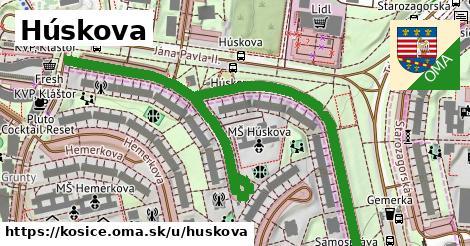 ilustrácia k Húskova, Košice - 0,82km