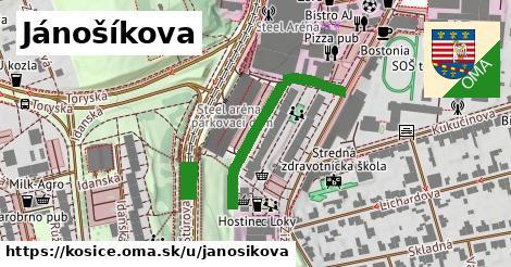 ilustrácia k Jánošíkova, Košice - 301m