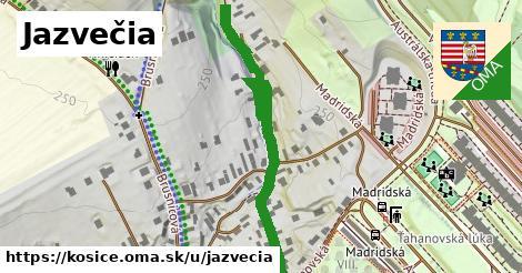 ilustrácia k Jazvečia, Košice - 520m
