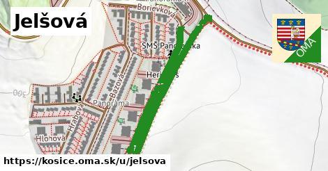 ilustrácia k Jelšová, Košice - 699m