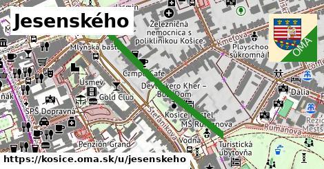 ilustrácia k Jesenského, Košice - 372m