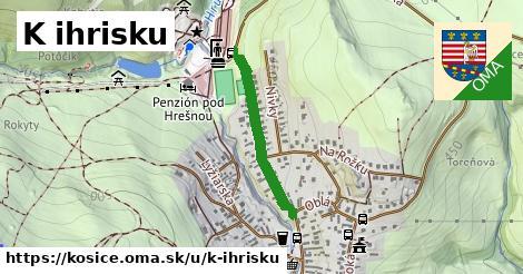 ilustračný obrázok k K ihrisku, Košice