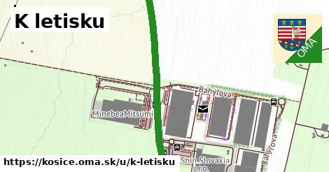 ilustrácia k K letisku, Košice - 2,2km