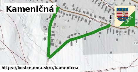 ilustrácia k Kameničná, Košice - 659m