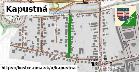 ilustračný obrázok k Kapustná, Košice