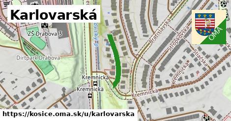 ilustračný obrázok k Karlovarská, Košice