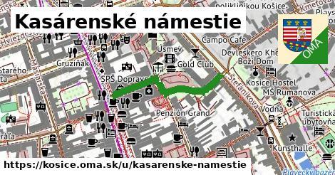 ilustračný obrázok k Kasárenské námestie, Košice