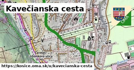 ilustrácia k Kavečianska cesta, Košice - 1,83km