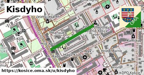 ilustračný obrázok k Kisdyho, Košice