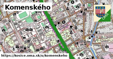 ilustračný obrázok k Komenského, Košice