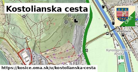 ilustrácia k Kostolianska cesta, Košice - 2,3km