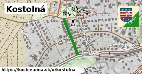 ilustrácia k Kostolná, Košice - 204m