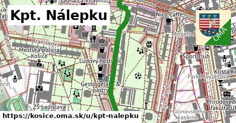 ilustrácia k Kpt. Nálepku, Košice - 446m