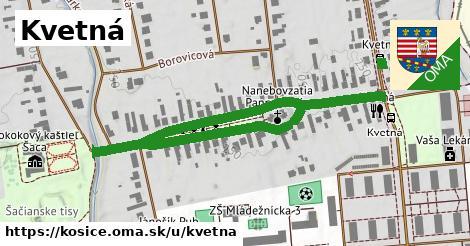 ilustrácia k Kvetná, Košice - 0,76km
