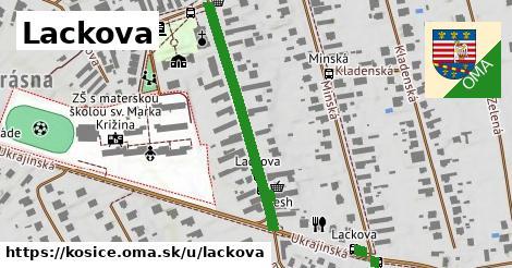 ilustračný obrázok k Lackova, Košice
