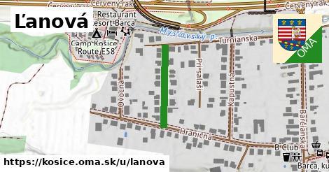 ilustrácia k Ľanová, Košice - 187m